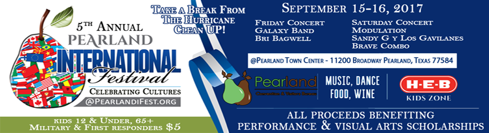2017 Pearland International Festival and Music Concert Friday Night Kickoff